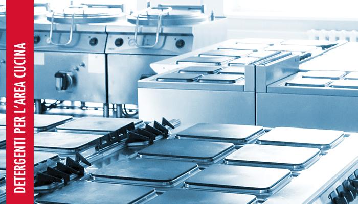 Detergenti per l'area cucina
